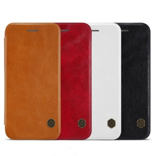 کیف محافظ چرمی نیلکین Nillkin Qin Leather Case For Apple iPhone 8 Plus