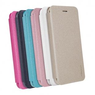 کیف محافظ چرمی نیلکین Nillkin Sparkle Leather Case For Apple iPhone 8