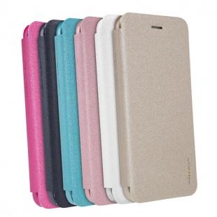 کیف محافظ چرمی نیلکین Nillkin Sparkle Leather Case For Apple iPhone 8 Plus