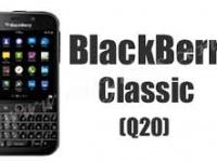 لوازم جانبی BlackBerry Classic Q20