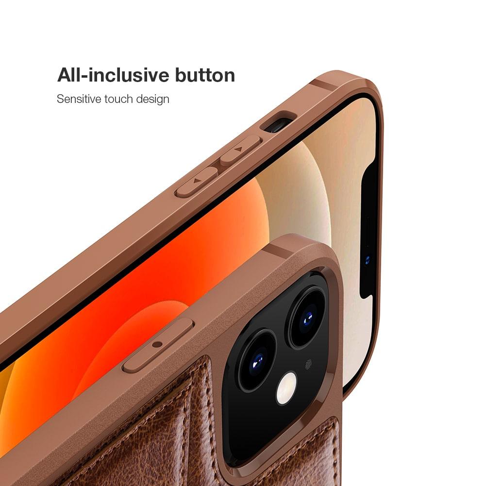 کیف چرمی نیلکین iphone 12 mini