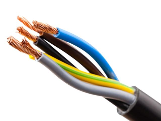 کابل مفتول NYY  سایز 6*5 البرز الکتریک نور