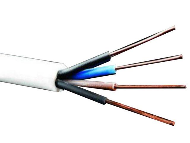 کابل مفتول کولری 1*4 البرز الکتریک نور