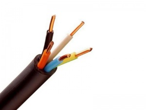 کابل مفتول NYY  سایز 6*4 البرز الکتریک نور