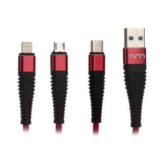 کابل شارژ لایتنینگ , microUSB - USB-C - USB مدل TC-A33