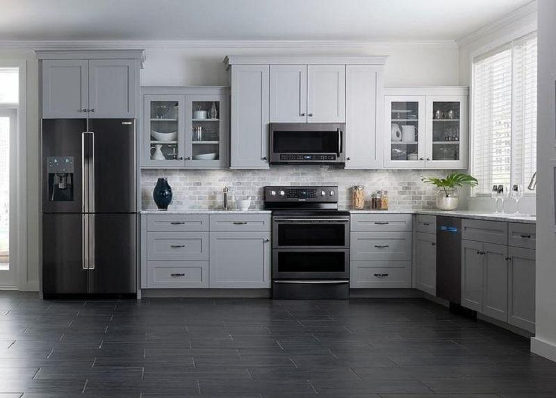 ایدههای مدرن آشپزخانه های طوسی