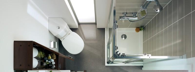 ایدههایی جذاب برای دکوراسیون حمام کوچک