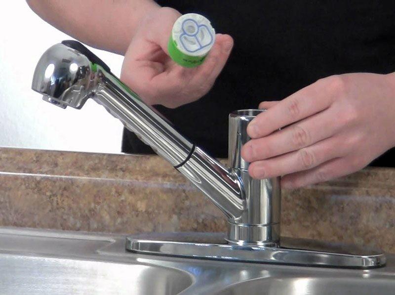 تعویض کارتریج شیرآلات اهرمی