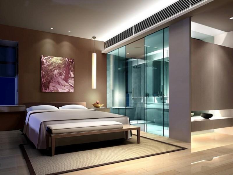 نگاهی به طراحی حمام اتاق خواب