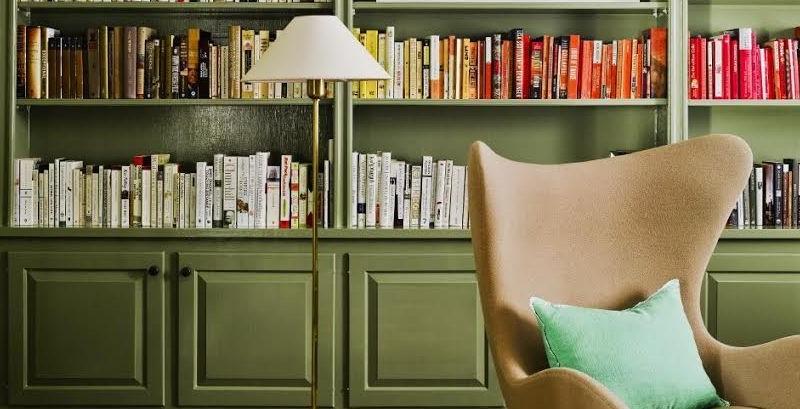 ایدههایی ناب برای طراحی کتابخانه در منزل