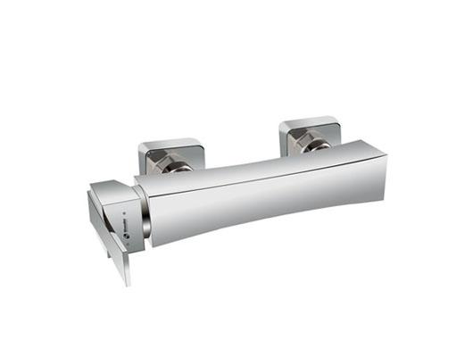شیر توالت شودر مدل ایمپرو کروم