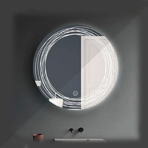 آینه چراغ دار گرد مدل FK-210