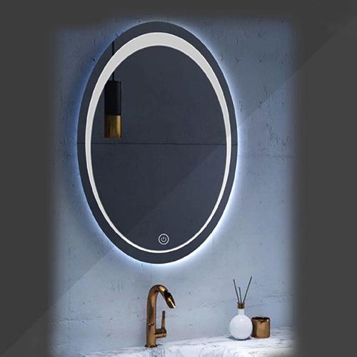 آینه چراغ دار بیضی مدل FK-317
