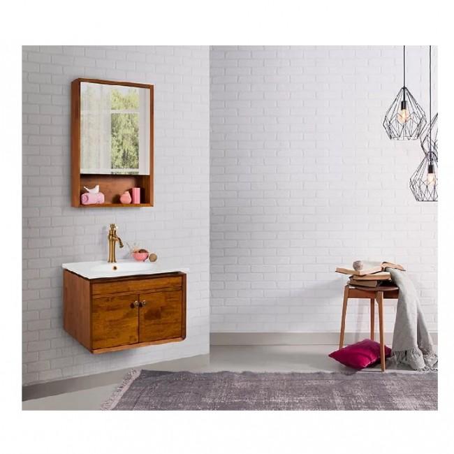 روشویی کابینت لوتوس جنس چوب مدل Martin