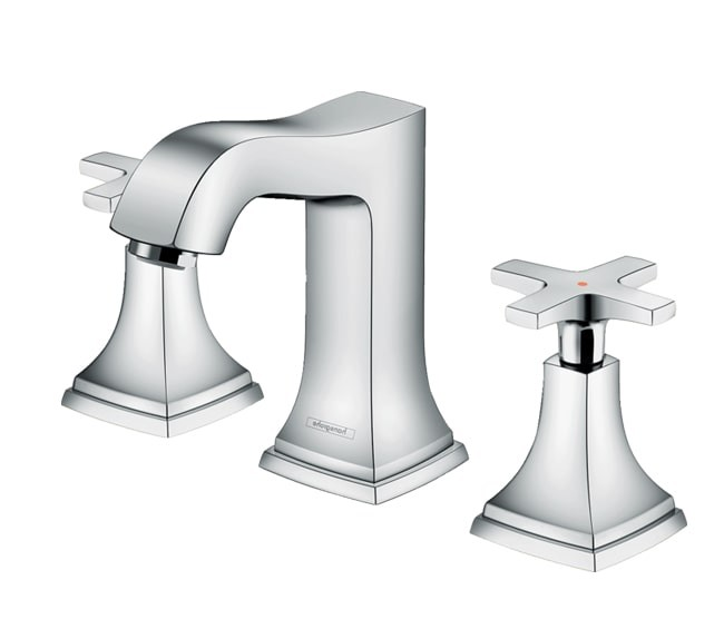 شیر روشویی سه تکه هانس گروهه مدل Metropol Classic
