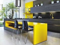 استفاده از رنگ زرد در آشپزخانه
