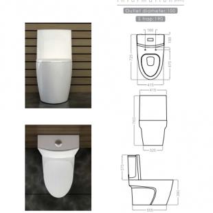 توالت فرنگی گلسار مدل پلاتوس