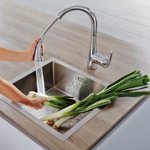 شیر آشپزخانه شلنگدار گروهه مدل زدرا کد 32294001