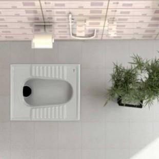 توالت زمینی گلسار مدل نیلوفر ۱۸