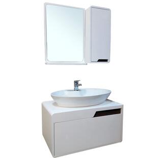 ست کابینت و روشویی موندیال به همراه آینه وباکس