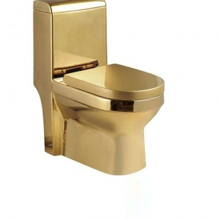 توالت فرنگی طلایی وارداتی