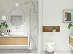 طراحی چیدمان حمام به سبک فنگ شویی