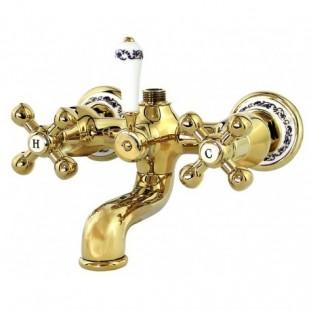 شیر دوش کرومات مدل کلاسیکال طلایی
