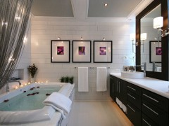 طراحی و دکوراسیون حمام لاکچری