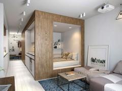 دکوراسیون داخلی خانه کوچک با طراحی کاربردی