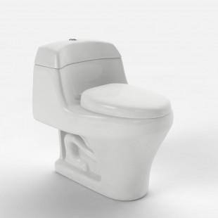 توالت فرنگی نوین سرام مدل مسینا