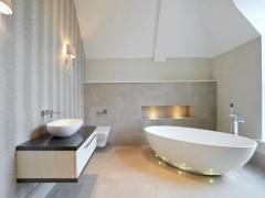 نورپردازی مدرن و جذاب حمام و دستشویی
