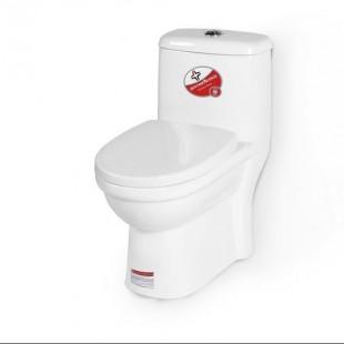 توالت فرنگی بومرنگ مدل ZL-2185