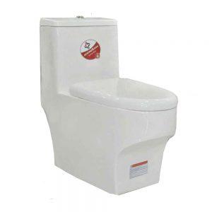 توالت فرنگی بومرنگ مدل ZL-2199