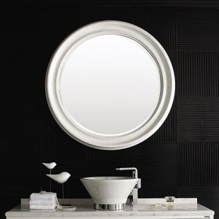 آینه دکوری چوبی مدل H-01