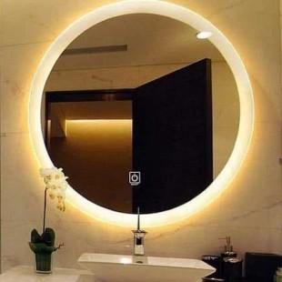 آینه نوری طرح گرد