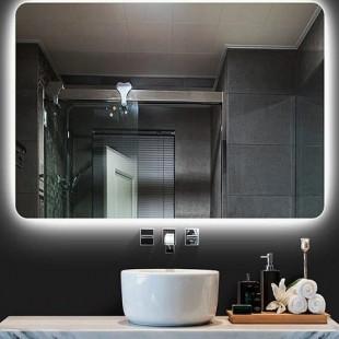 آینه نوری طرح مستطیل با لبه های منحنی