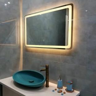 آینه نوری طرح مستطیل با حاشیه نوری و آینه