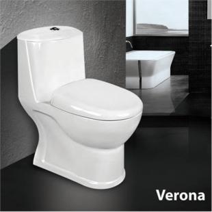 توالت فرنگی مروارید مدل ورونا 61