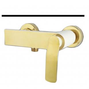 شیر توالت راسان مدل ویولت سفید طلا