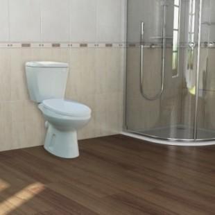 توالت فرنگی گلسار مدل گلچین