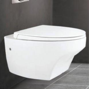 توالت فرنگی دیواری  مروارید مدل مگا