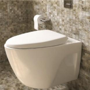 توالت فرنگی دیواری پرشیا سرامیک مدل گلوریا