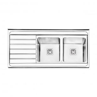 سینک فانتزی روکار پرنیان استیل مدل  PS 1114