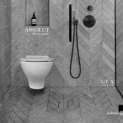 توالت فرنگی دیواری GEA مدل ABSOLUTE rimless