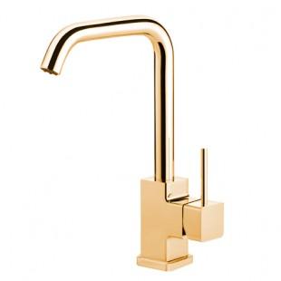 شیر ظرفشویی بدون شات جاستایم مدل مارک کد 6909-97 طلا