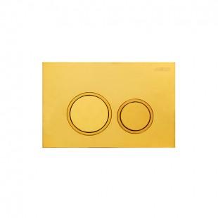 صفحه کلید فلاش تانک توکار جاستایم کد 6373-K2  طلایی