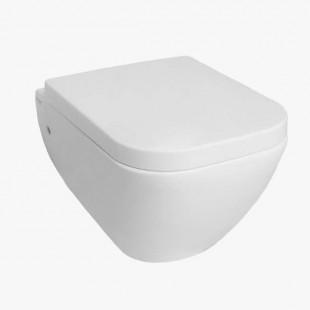 توالت فرنگی دیواری مروارید مدل کاپریس