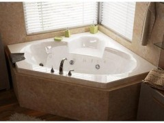 ترفندهایی برای قرار دادن وان و جکوزی در حمام کوچک