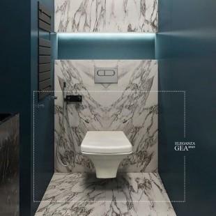 توالت فرنگی دیواری GEA مدل ELEGANZA