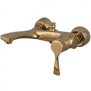 شیر دوش(حمام) کرومات مدل مدیا طلایی